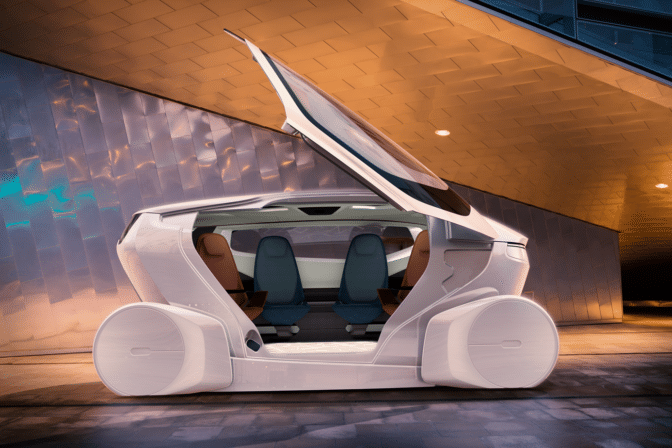 NEVS' mobility-focused concept car powered by NVIDIA DRIVE