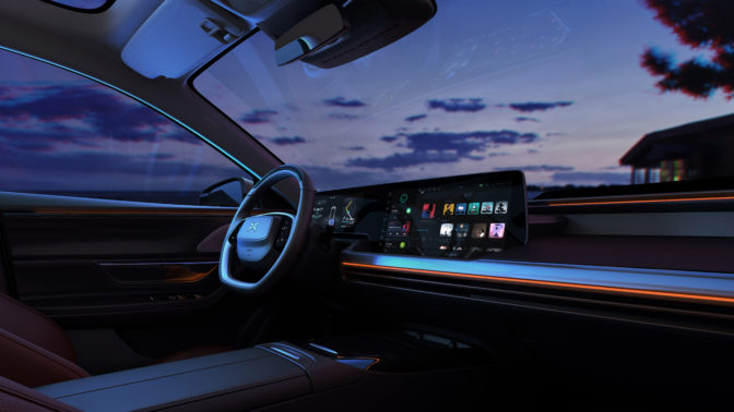 NVIDIA DRIVE AGX Xavier helps sporty P7 sedan for safe, convenient AI-assisted driving