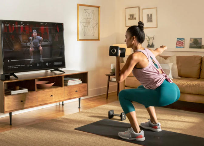 Peloton app on NVIDIA SHIELD