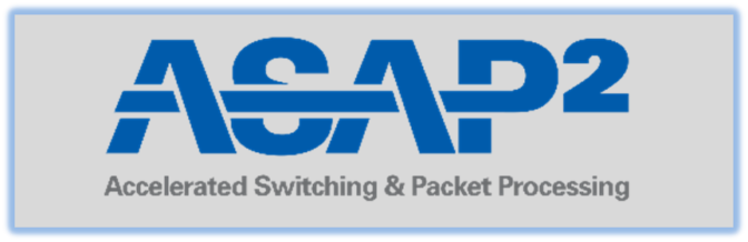 NVIDIA Accelerated Switching and Packet Processing (ASAP2) logo