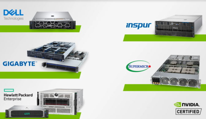 NVIDIA-Certified Systems with logos x 1280