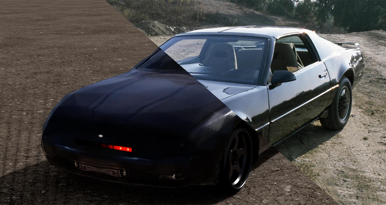 Knight Rider Rides a GAN: Bringing KITT to Life with AI, NVIDIA Omniverse